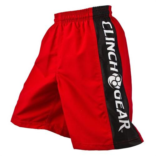 Clinch Gear Clinch Gear Youth Performance Shorts - Red